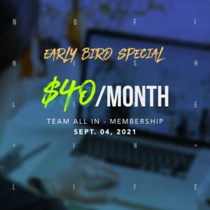 40 per month UX/UI Design Membership