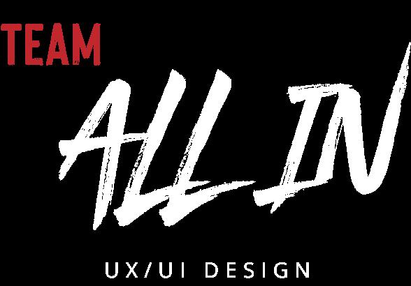 Team ALL IN - Logo - WHT